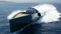 Mysterious Black Stealth Ship Prowls San Francisco Bay, A Harbinger Of Yachting's Future